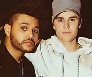 justin bieber and the weeknd image