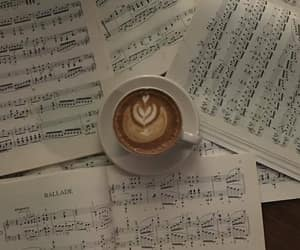 aesthetic, music, and coffee image