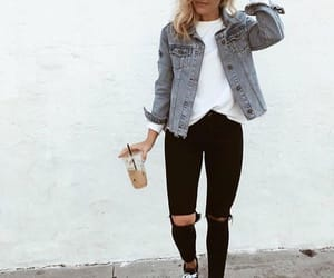 casual, jacket, and outfit image