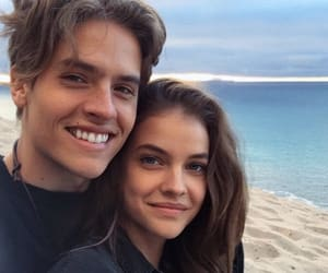 dylan sprouse, barbara palvin, and love image