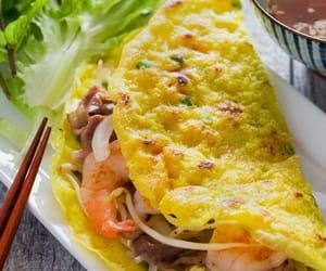 food, Vietnam, and banh xeo image