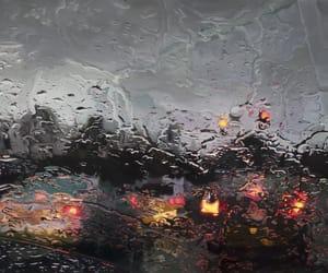 rain, car, and art image