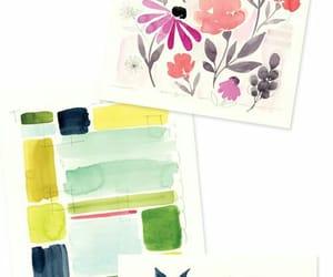 art, drawing, and watercolors image