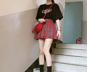 asian, ulzzang, and outfit image