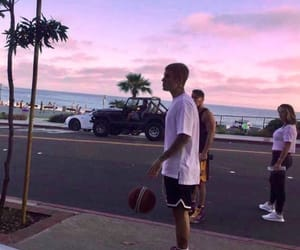 justin bieber, sunset, and justinbieber image