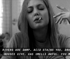 Angelina Jolie, girl interrupted, and drugs image