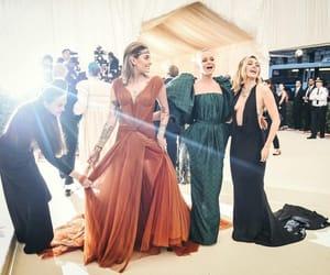 models, beauty, and dresses image