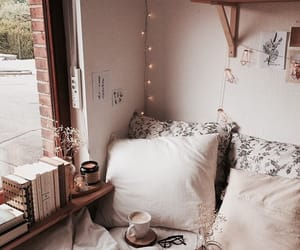 cozy, bed, and autumn image