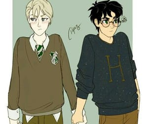 harry potter, drarry, and draco malfoy image