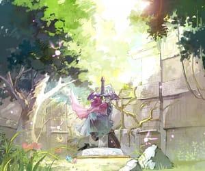 skyward sword, fi, and Legend of Zelda image