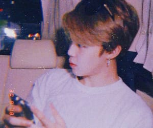 jimin, bts, and aesthetic image
