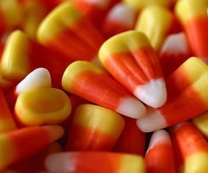 candy corn, candy, and Halloween image