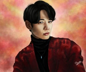 art, digital drawing, and kpop image