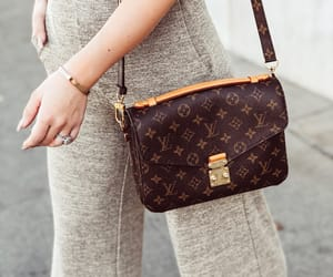 bag, brown, and accessories image