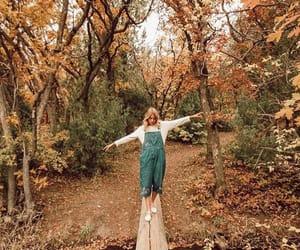 autumn, beautiful, and style image