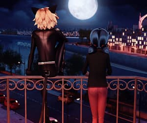 Chat Noir, marinette dupain-cheng, and marichat image