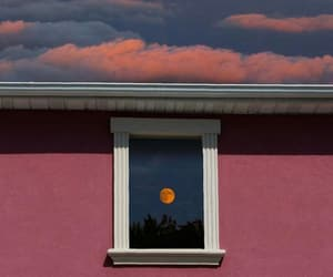 art, moon, and photography image