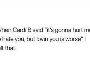 quote and cardi b image