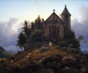 19th century, art, and karl friedrich lessing image