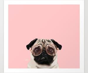 art prints, pug life, and pug art image