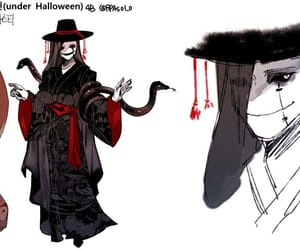 Halloween, gaster, and undertale image