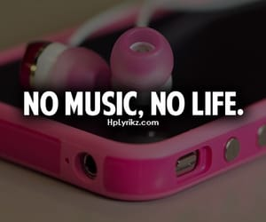 quote, swag, and no music no life image
