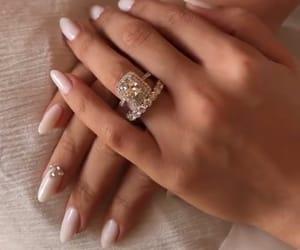 beauty, diamonds, and hands image