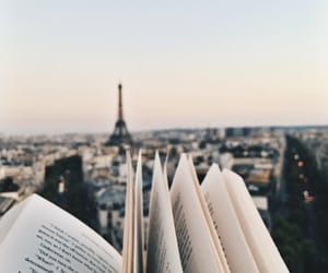 book, paris, and travel image