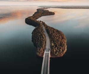 road, sky, and travel image