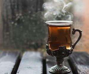 tea and autumn image