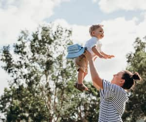 babies, kids, and mom image