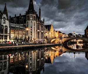 autumn, belgium, and city image