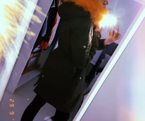 Herbst, parka, and yellow image