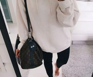 bag, fashion, and LV image