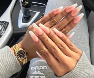 nails, adidas, and watch image
