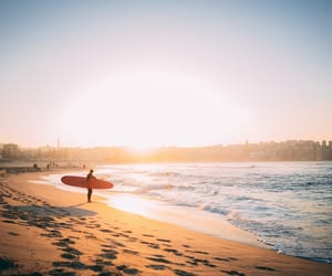 australia, sea, and summer image