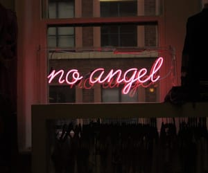 angel, neon, and light image