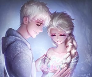 jelsa, love, and frozen image