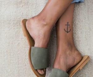 fashion, tattoo, and shoes image