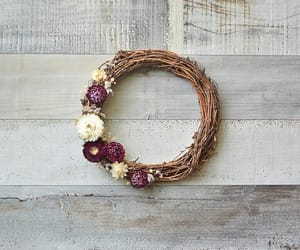 etsy, floral wreath, and fall wreath image