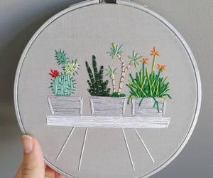 bordado, decor, and plants image