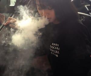 aesthetic, antisocialsocialclub, and smoke image