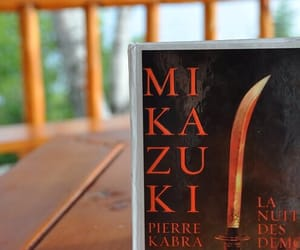 book, mikazuki, and demons image