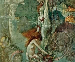 children's books, children's illustration, and the little mermaid image