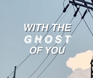 i live, of you, and with the ghost image