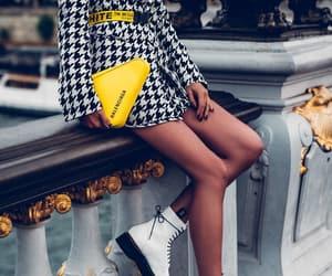 Balenciaga, outfit, and balenciaga bag image