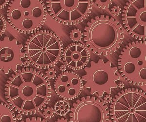 art, circles, and gears image