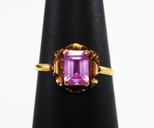 etsy, purple, and victorian image