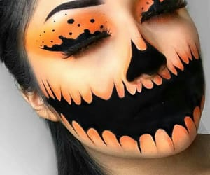 Halloween, makeup, and art image