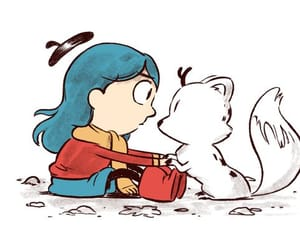 hilda, illustration, and netflix image